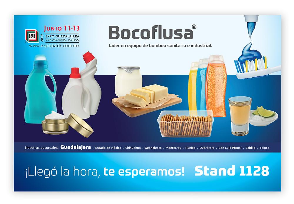 Bocoflusa en Expo Pack 2019