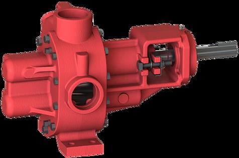 Bomba de engranes con capacidad de manejar fluido viscosos de hasta 250,000 SSU, Roper, Bocoflusa