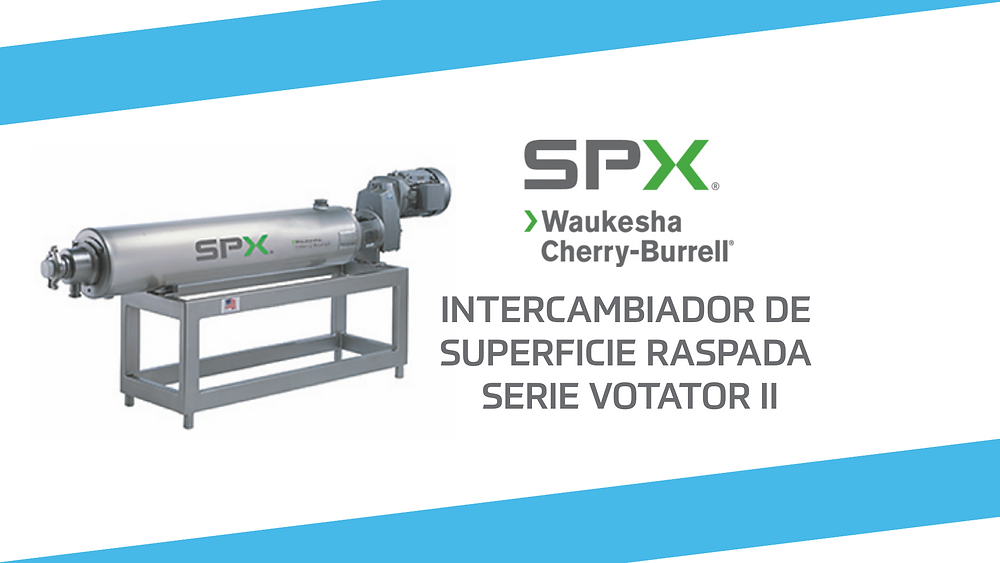 Intercambiador de Superficie Raspada Serie Votator II