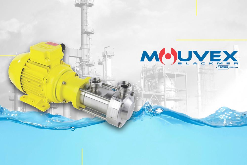 bombas sanitarias de disco excéntrico Mouvex, Serie Micro C
