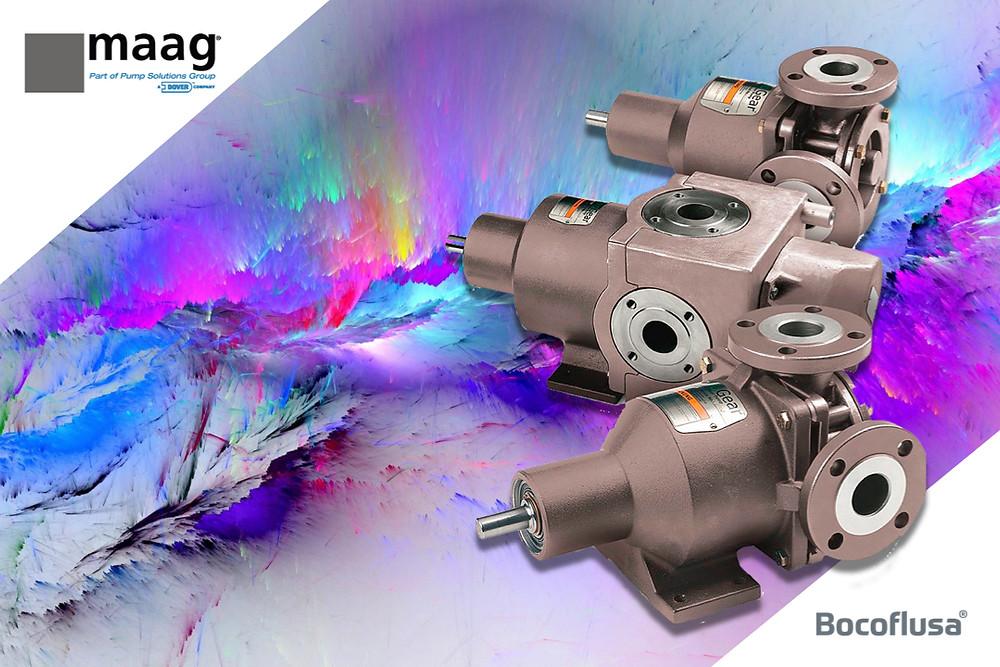 Maag EnviroGear bomba de engranes internos de acoplamiento magnético libre de sello mecánico