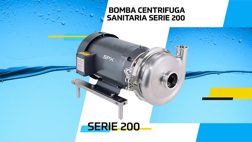Bomba Centrifuga Sanitaria Serie 200 WAUKESHA SPX FLOW