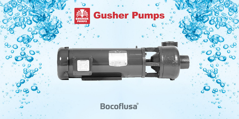 Bombas horizontales y verticales Gusher Serie 7800