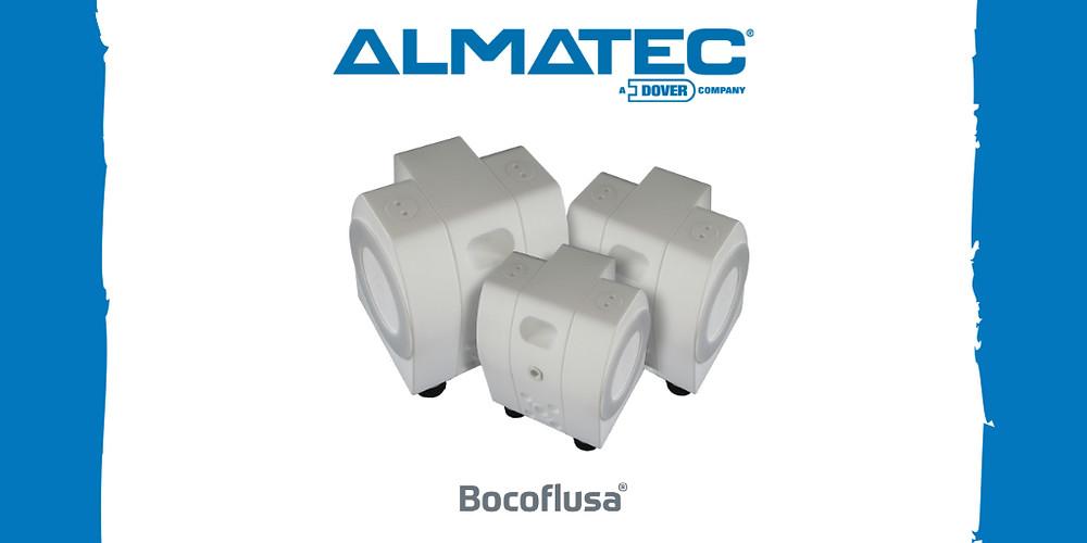 Bomba Almatec de Doble Diafragma Serie E