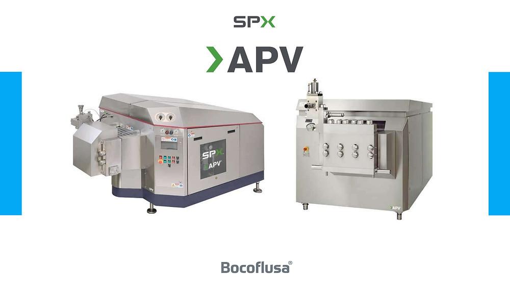 Homogeneizadores industriales APV