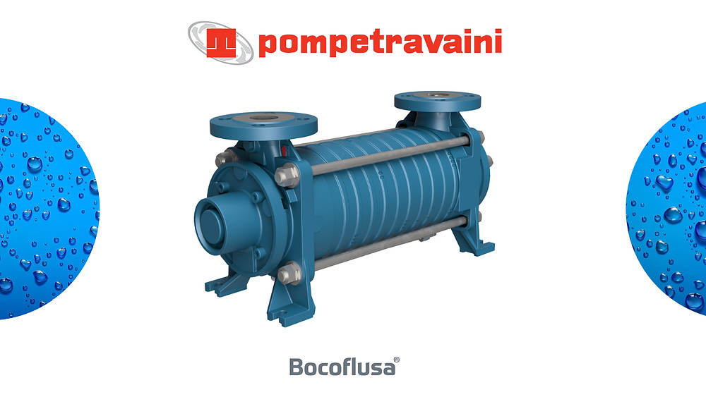 Bomba centrífuga de canal lateral serie TBH de Pompetravaini