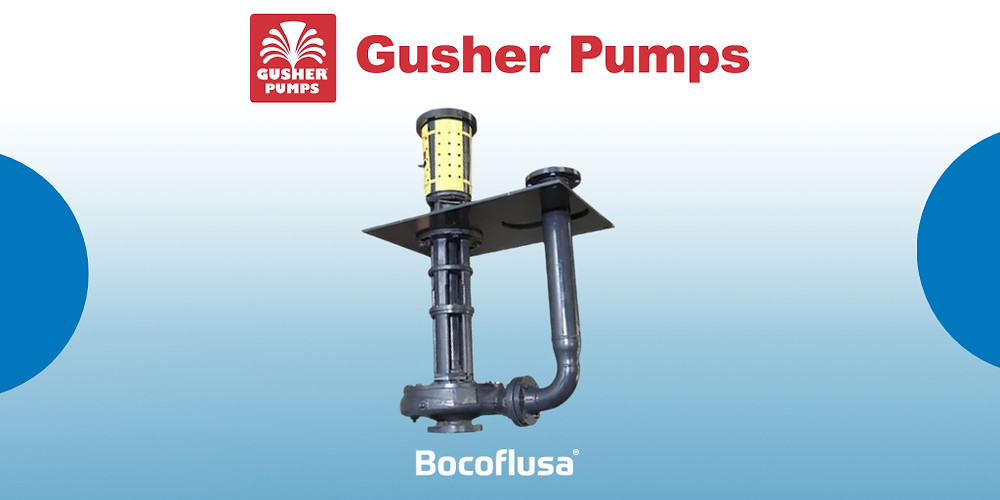 Bomba vertical tipo Pull-Out Serie 7600 Gusher