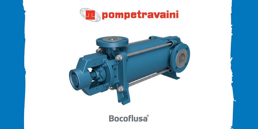 Bomba Centrífuga para Alta Presión Serie TMA Pompetravaini