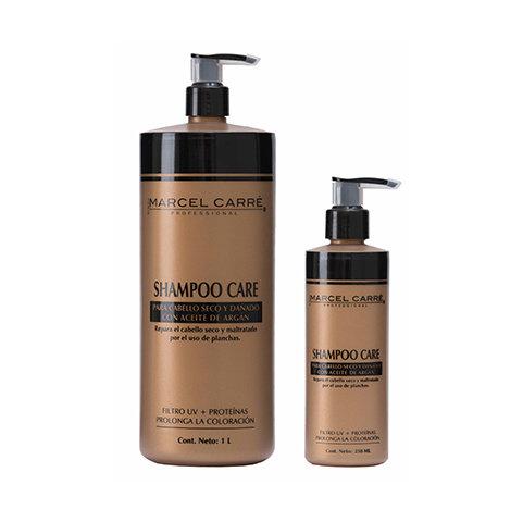 Shampoo Care para cabello seco y dañado
