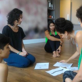 Workshop für eine Tanzgruppe