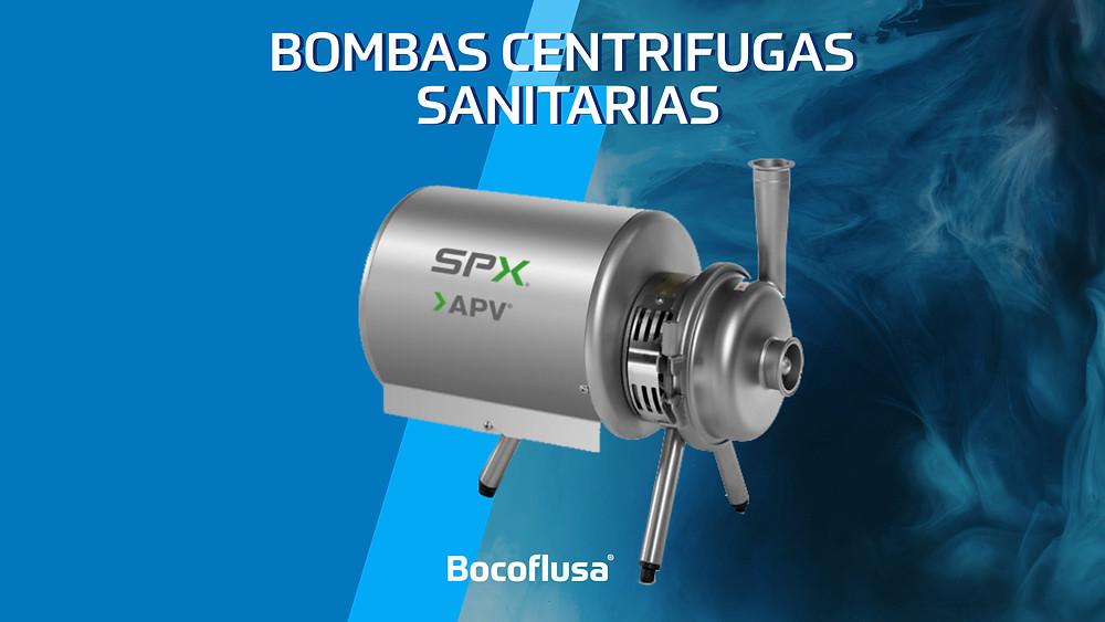 bombas centrífugas sanitarias, bocoflusa, apv