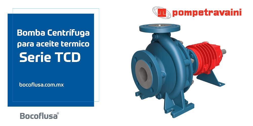 Bomba Centrífuga Pompetravaini para Aceite Térmico Bomba Centrífuga Pompetravaini para Aceite Térmico