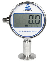 Manómetro digital, Anderson, Bocoflusa