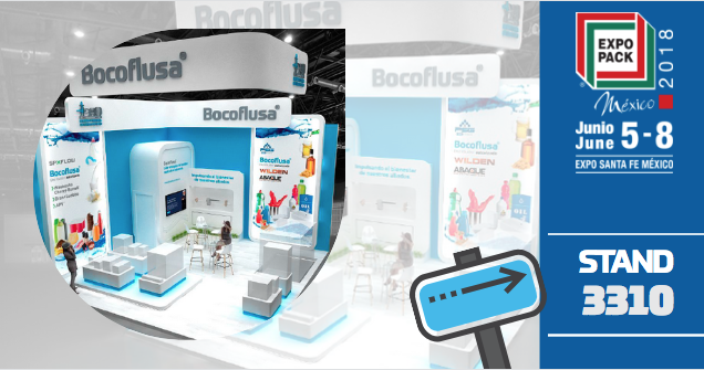 Stand Bocoflusa en Expo Pack 2018
