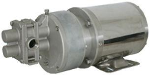 Bomba de engranes externos rectos de cople magnético Serie Isochem, Pulsafeeder, Bocoflusa