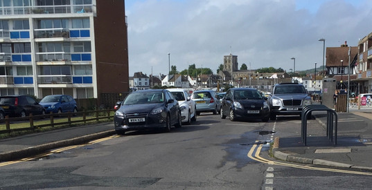 Ferry Rd congestion