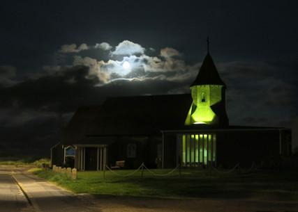 Church of the Good Shepherd by night