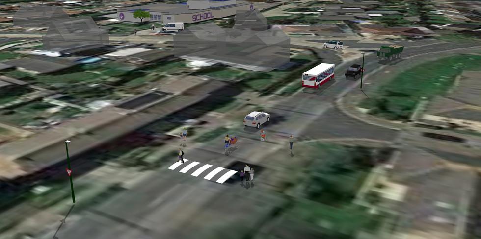 Harbour Way school crossing speed-hump idea