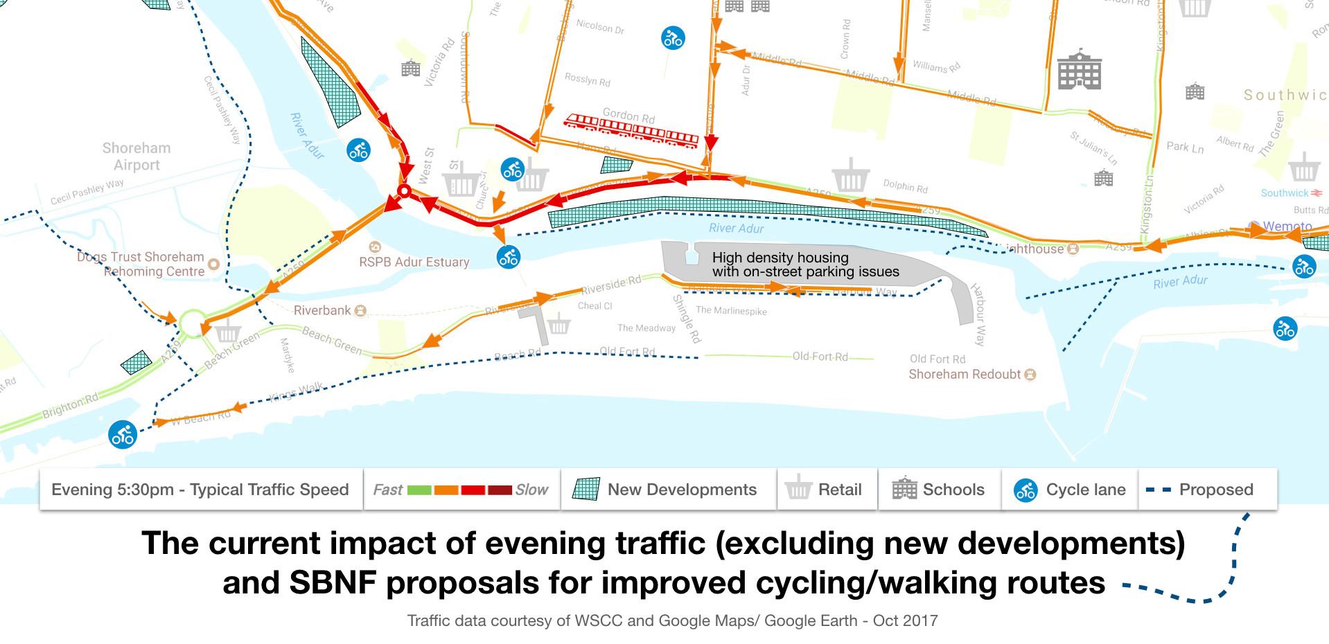 See the plans for Shoreham Harbour at Pond Rd: 10 Nov-22nd December