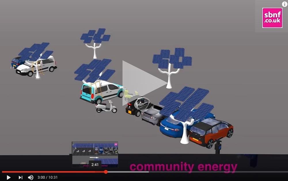 solar car-port energy trees idea