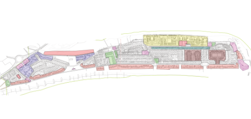shoreham beach built environment map