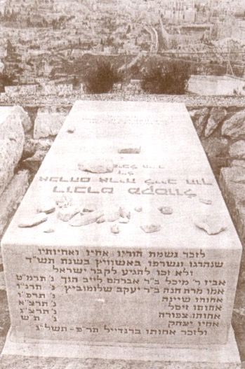 Mount of Olives burial site