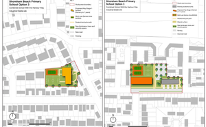 Final Report on concepts for school expansion and Beach Green development by independent planning sp