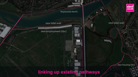 Traffic-free routes to leisure, retail, work and education