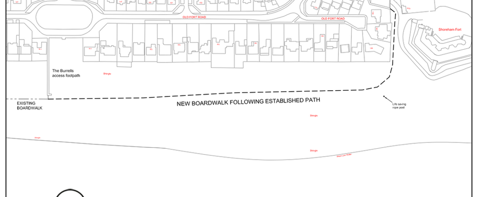 New Beach Boardwalk Extension in May 2018 and NP Draft Policy