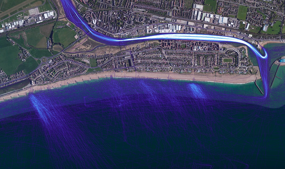 Shoreham water activities map