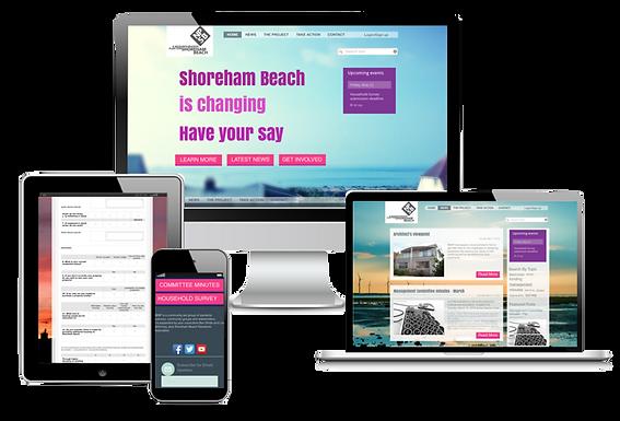 A more interactive website for SBNF