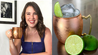 Moscow Mule 2 Minute Vodka Cocktail