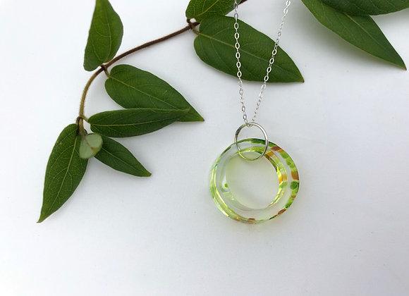 Glass Circle Pendant