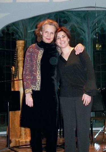 With Kaija Saariaho