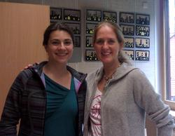 With Kathinka Pasveer