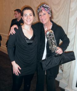 With Eva Kingma