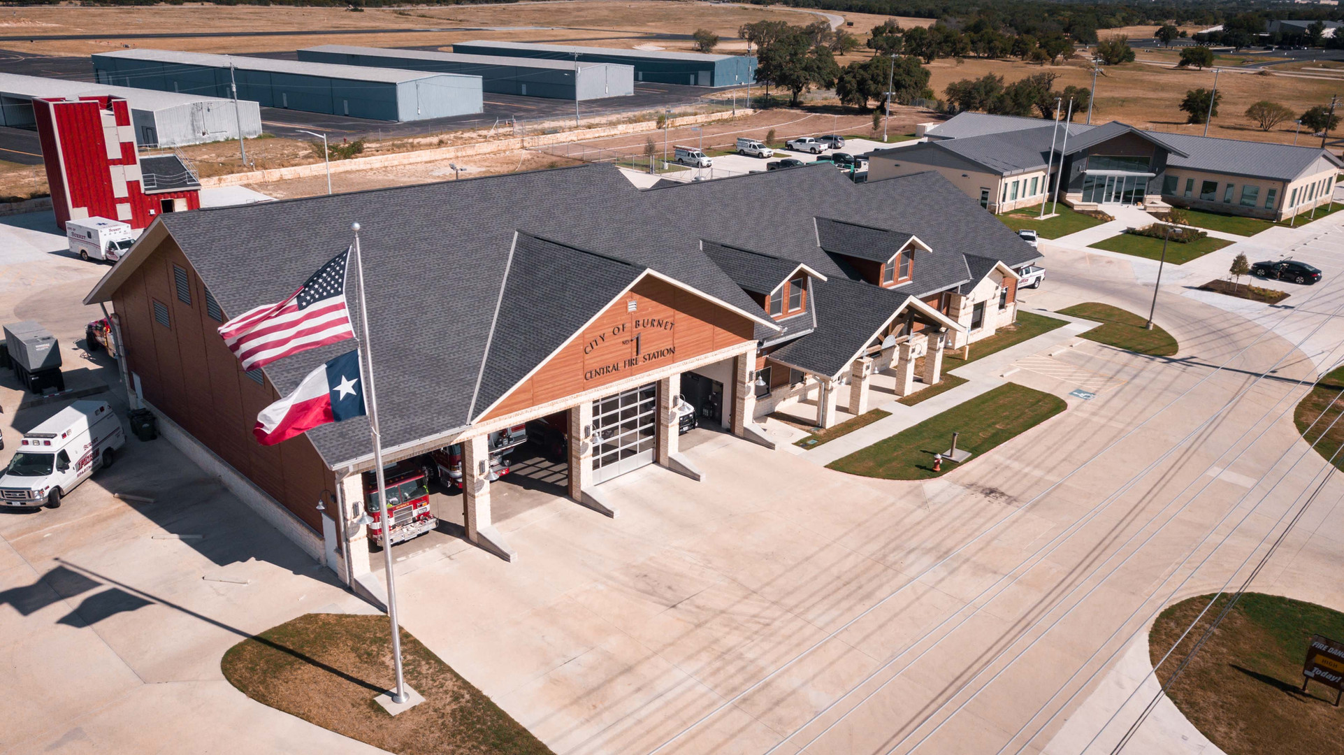 Terradyne provided Geotechnical Engineering services for Burnet Fire Station in Austin Texas.