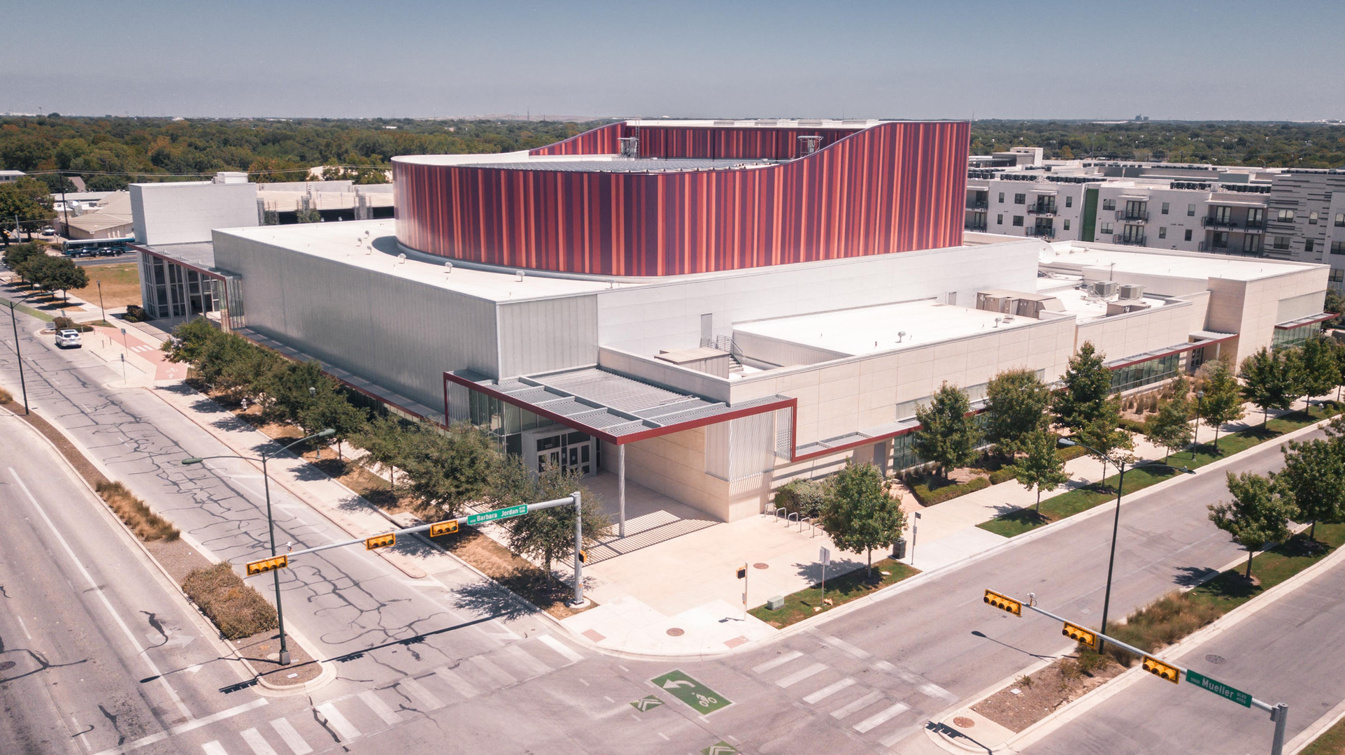 Terradyne provided Construction Materials Testing services to the AISD Performing Arts Center in Austin Texas.