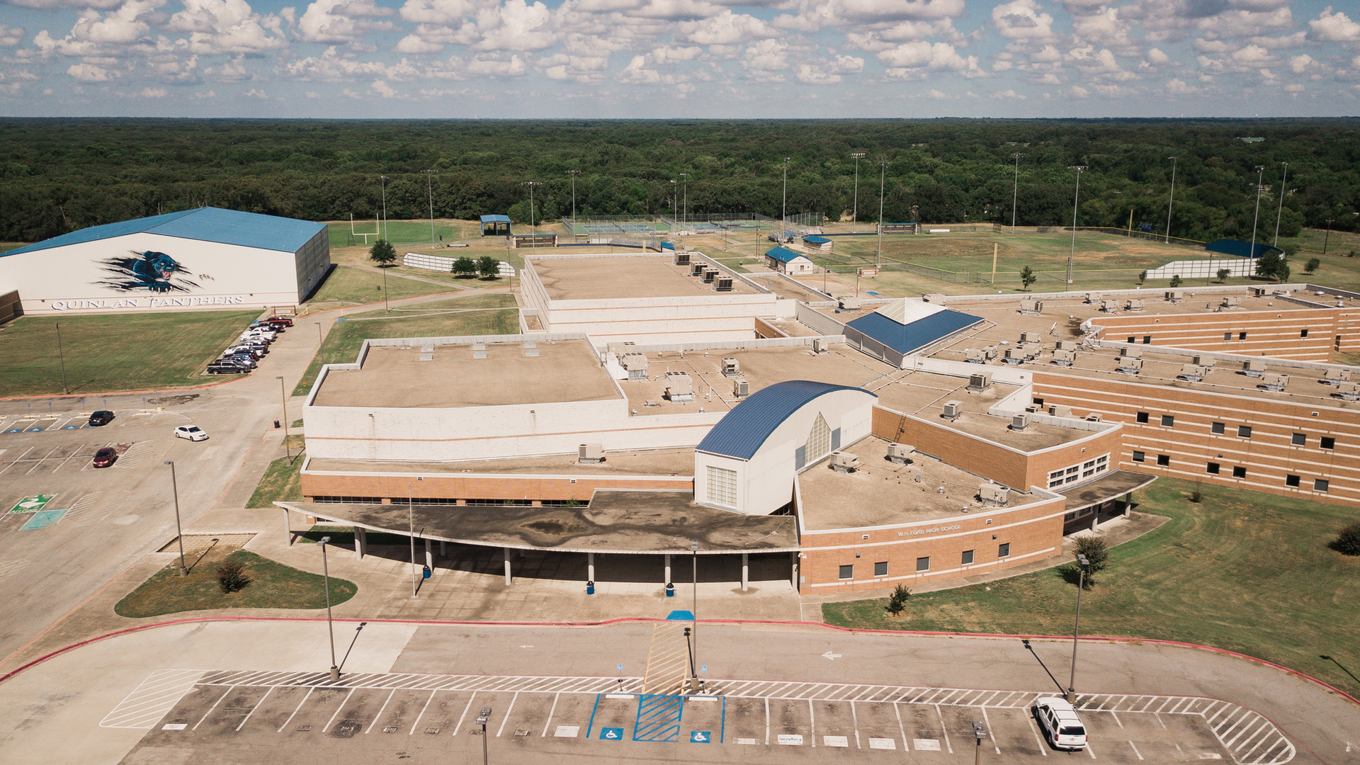 Terradyne provided Geotechnical Engineering Services for Ford High School in Quinlan Texas.