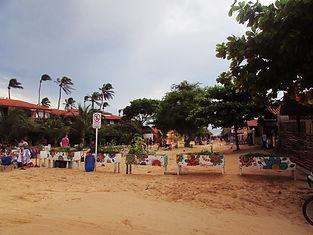 rua de areia de Jeri