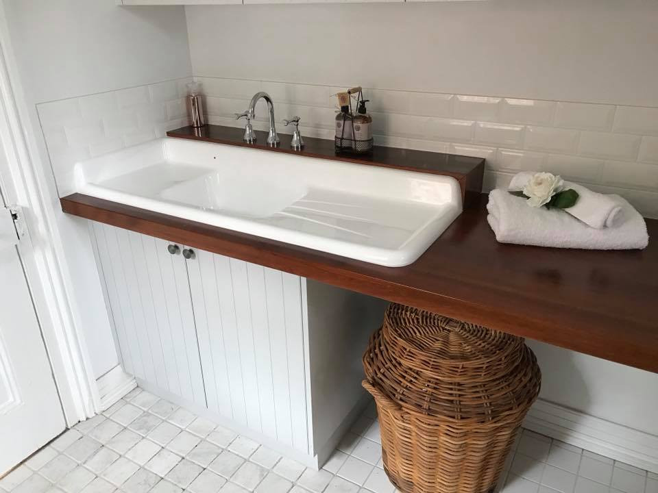 Laundry 2 Pac with Timber Recycled Top