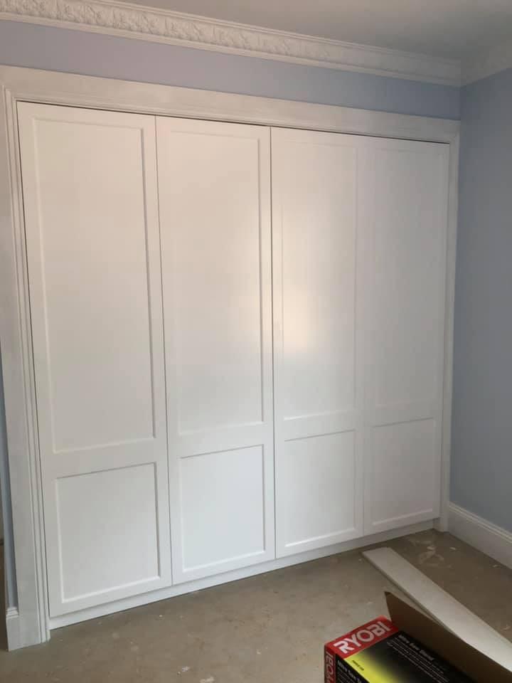 2 Pac Shaker Wardrobe Doors