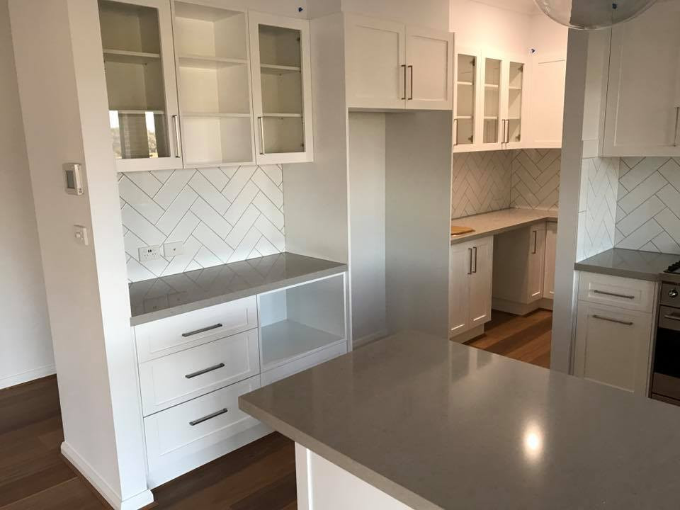 Butler Pantry off Kitchen