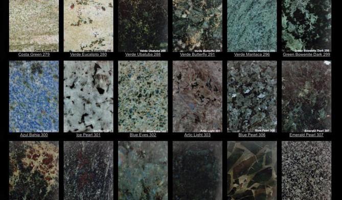 Granite Colours