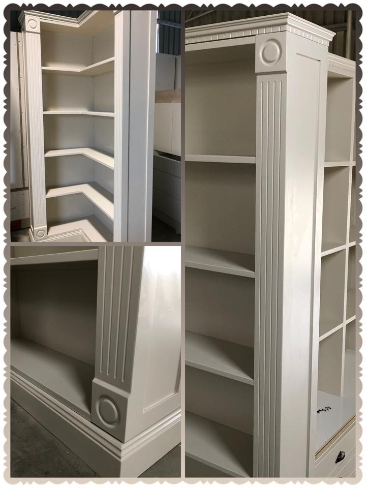 Book Shelf 2 Pac Painted