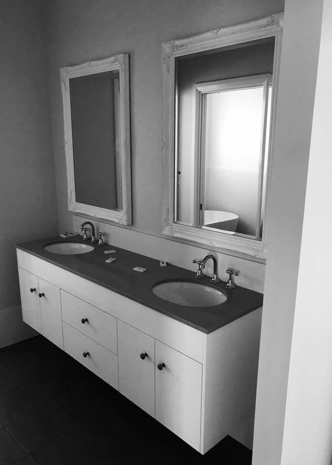 Vanity with Undermount Basins