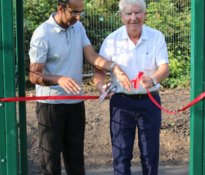 New Net Facility Opened by Ted Williams