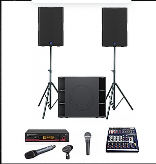 Speaker hire Nottingham and DJ equipment Nottingham