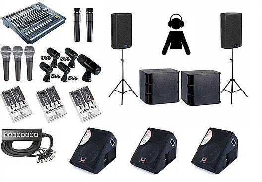 Pa System hire in Nottingham