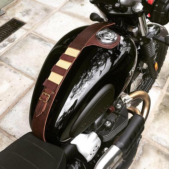 Corbata de Depósito Triumph Marrón Africano / Triumph Leather Strap